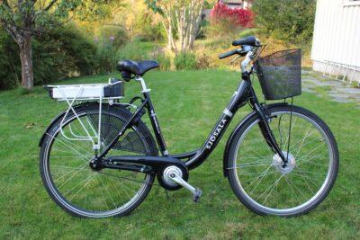 自転車と電動自転車の速度比較